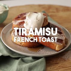 Start your morning off right with this sweet twist on french toast!