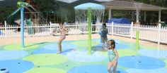 "Home | Rain Deck - Splash Pads - Splash Parks they use the moldable rubber ""cement"" like we saw on Yard Crashers."
