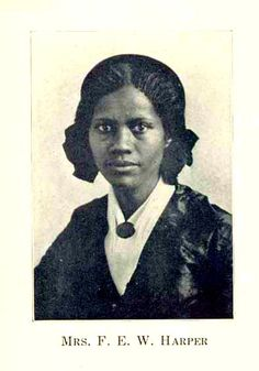 """1858 – She refused to give up her seat or ride in the """"colored"""" section of a segregated trolley car in Philadelphia (100 years before Rosa Parks) and wrote one her most famous poems, """"Bury Me In A Free Land,"""" when she got very sick while on a lecturing tour. Her short story """"The Two Offers"""" became the first short story to be published by an African American."""