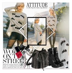 """""""Attitude"""" by stylemoi-offical ❤ liked on Polyvore featuring yeswalker and inmybackpack"""