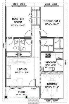 2 bed room home stra