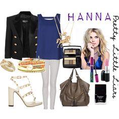 """""""Pretty Little Liars Fashion: Hanna Marin"""" by yanyaniel on Polyvore"""