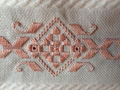 aprendendo novos tipos de bordados