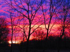 Sunrise, not edited, photography