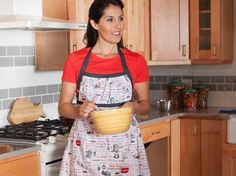 Sew Liberated Emmeline Reversible Apron Kit (Kiss the Cook)