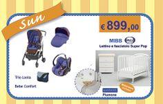 Trio Bebe Confort Loola Lettino Fasciatoio Piumone Materasso KIT SUN http://www.lachiocciolababy.it/bambino/kit_sun-6656.htm