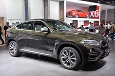 2015 BMW X6 makes its world debut at the Paris Motor Show...awww