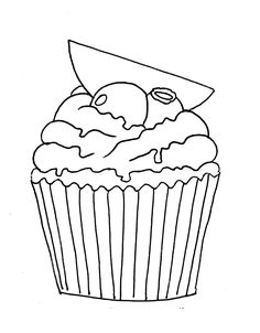 Mis Hojas de Papel: Sellos Digitales cupcake, blueberry muffin, arandanos