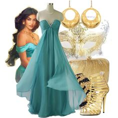 """Masked Ball - Jasmine"" by annabelle-95 on Polyvore"