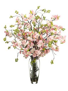 Chic faux flower arrangements from Allstate Floral.