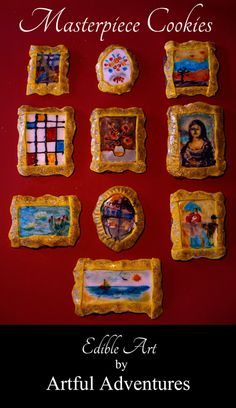 Sugar cookie art—bring in pre-made sugar cookies and colored frosting and let the kids decorate their own cookies, maybe in the style of an artist we've talked about?
