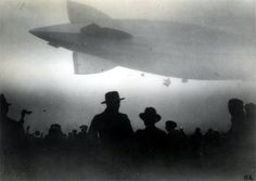"America's zeppelin, ""the los angeles"" - october 12, 1924."