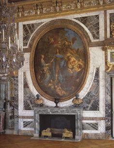 Château de Versailles, Grands Appartements du Roi, Le salon de la Paix