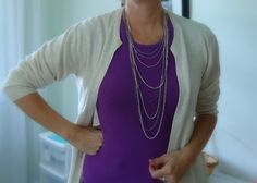Quickly and easily turn an old pullover sweater into a cute cardigan sweater with these simple instructions.
