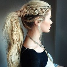 Braided Ponytail Ideas: 40 Cute Ponytails with Braids