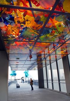 Chihuly Bridge of Glass in Tacoma.