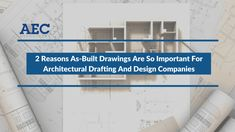 Architectural drafting and design companies shoulder the responsibility of converting the dream castles of their clients into solid structures of steel and concrete. The changes made in the initial drawings during construction stage could cause confusion. As-built drawings take care of these changes and give a true picture of the final outcome.