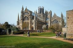 Ely Cathedral in Spring