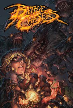 Battle Chasers Collected By Joe Madureira Joe Madureira, Comic Book Artists, Comic Artist, Comic Books Art, Battle Chasers, Comic Art Community, Comic Manga, Western Comics, Image Comics