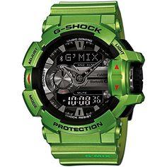 Casio - G-Shock - Bluetooth Smart - Green - GBA400-3B Casio http://www.amazon.com/dp/B00U1UQTF4/ref=cm_sw_r_pi_dp_o88Xvb0R8BV27