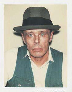 Andy Warhol, Polaroids: Joseph Beuys, 1970 - 1987