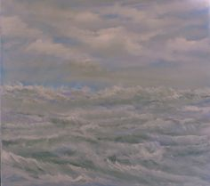 oil on canvas 100x100cm. Oil On Canvas, Canvas Art, Berlin, Original Art, Original Paintings, Impressionism Art, Seascape Paintings, Buy Art, Saatchi Art