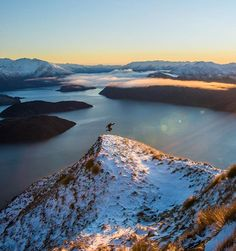Celebrating the wilderness, first light over Lake Wanaka, a morning to remember!