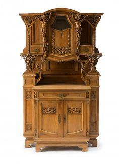 Cabinet with attachment, c1900 : Lot 735