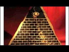 This is a pure gold ancient pyramid that is not Illuminati in origin but ancient Egyptian and Ecuadorian by way of Mars and Sirius...