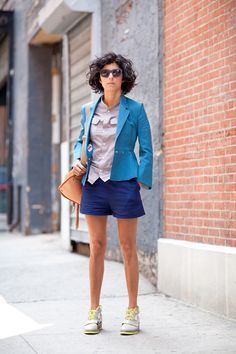 How-to dressy with sneakers