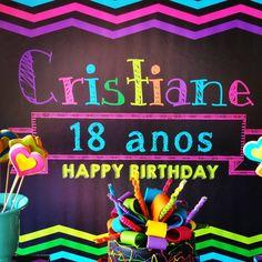 🎁18 Anos Cristiane 🎁 Festa Neon🎉🎉 Much Glow For You #sitiovoceeeu #fernandafrazao #festaneon #neonparty #festaglow #glowparty #cris18anos (em Sítio Você & Eu)