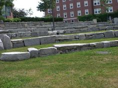 Superb Bates College outdoor amphitheater