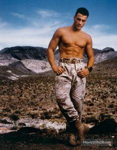 Universal Soldier - Promo shot of Jean-Claude Van Damme Ramones, Mtv, Hero Hunk, Normal Movie, Claude Van Damme, Soldier Costume, Grunge, Men In Uniform, Classic Man