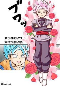 Dragon Ball Super- Goku and Goku Black
