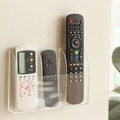 VANCORE Remote Control Holder Acrylic Wall Mount Media Organizer Box 3 Compartments >>> Visit the image link more details. (This is an affiliate link) Remote Control Organizer, Tv Holder, Remote Control Holder, Tv Remote Controls, Kitchen Cabinet Organization, Storage Organization, Organizing Ideas, Storage Ideas, Portable Tv