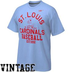St. Louis Cardinals Cooperstown Collection Vintage Logo T-Shirt