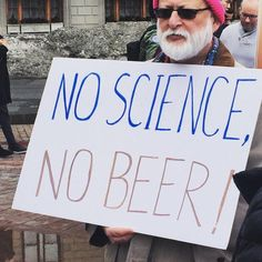The nerdiest signs from Boston's 'stand up for science' rally