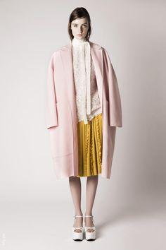 Pre spring 2016 / Blush pink coat