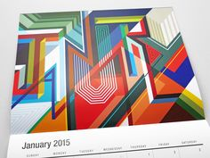 MWM Graphics (Matt W. Moore)   2015 Wall Calendar   January