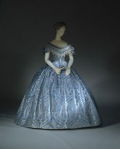 Dress (Ball Gown) ca. 1860