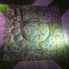 """When you are quilting, do you ever have trouble seeing your stitching? I'm working on a quilt this week and it has some """"hard to see the st..."""