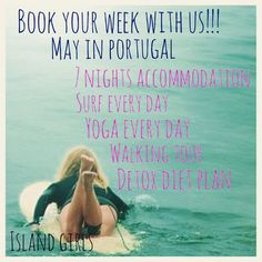 Portugal in May!!