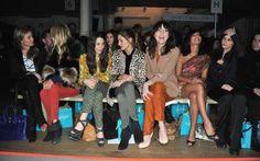 The Olivia Palermo Lookbook : London Fashion Week Fall 2012 : Olivia Palermo at Matthew Williamson