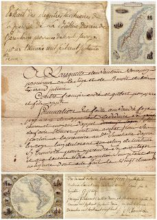 Magic Moonlight Free Images: Old letters collages! free images for You!