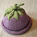 Atelier libre tricot : Bonnet pour Bébé de 6 mois ou   : Légume ou fruit ?