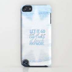 frozen, let it go lyrics...  iPhone & iPod Case