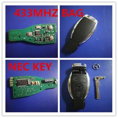 Find More Tire Pressure Alarm Information about For Mercedes NEC KEY  BAG KEY FOR BENZ Keyless Entry Smart Remote Key 3 Button 433MHz NEC Chip for Mercedes Benz 2000+,High Quality key,China bag fashion Suppliers, Cheap keys wallet from Taizhou Luqiao Tongda Lock Service Shop on Aliexpress.com