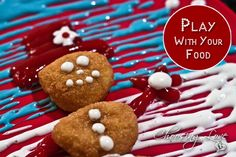 Play with your food and create a snowman with Tyson chicken nuggets Tyson Chicken, Tyson Foods, Edible Food, How To Eat Better, Chicken Nuggets, Cookie Decorating, Gingerbread Cookies, Food Art, Snowman