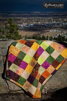 Multicolor Quiltworx Desert Sky pattern