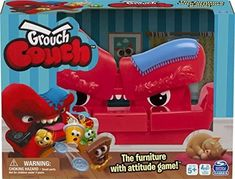 Grouch Couch, Furniture with Attitude Game Family Game Night, Family Games, Fun Games, Games For Kids, Toys Uk, Typing Games, Couch Furniture, Christmas Gift Guide, Christmas Ideas